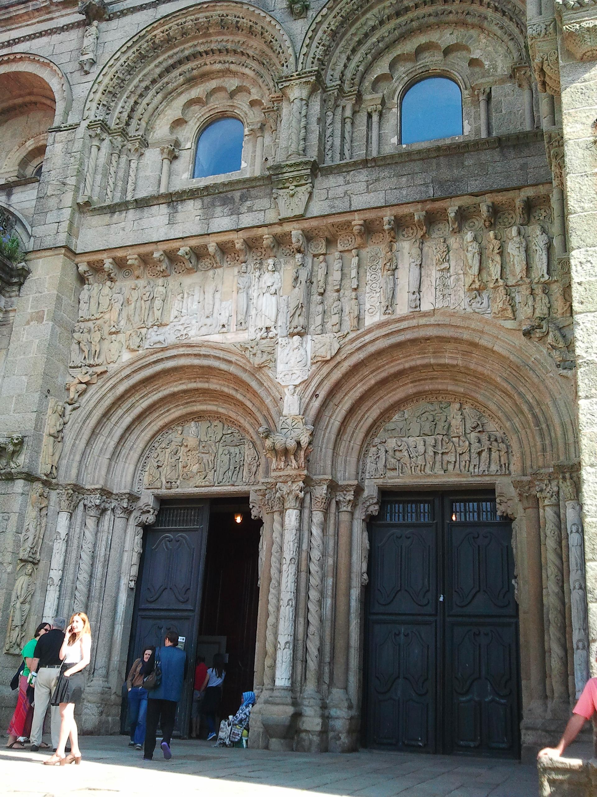 boczne wejście do Katedry (główne było w remoncie)