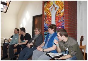 Oaza Modlitwy w Laskach 2012 spotkanie w sali